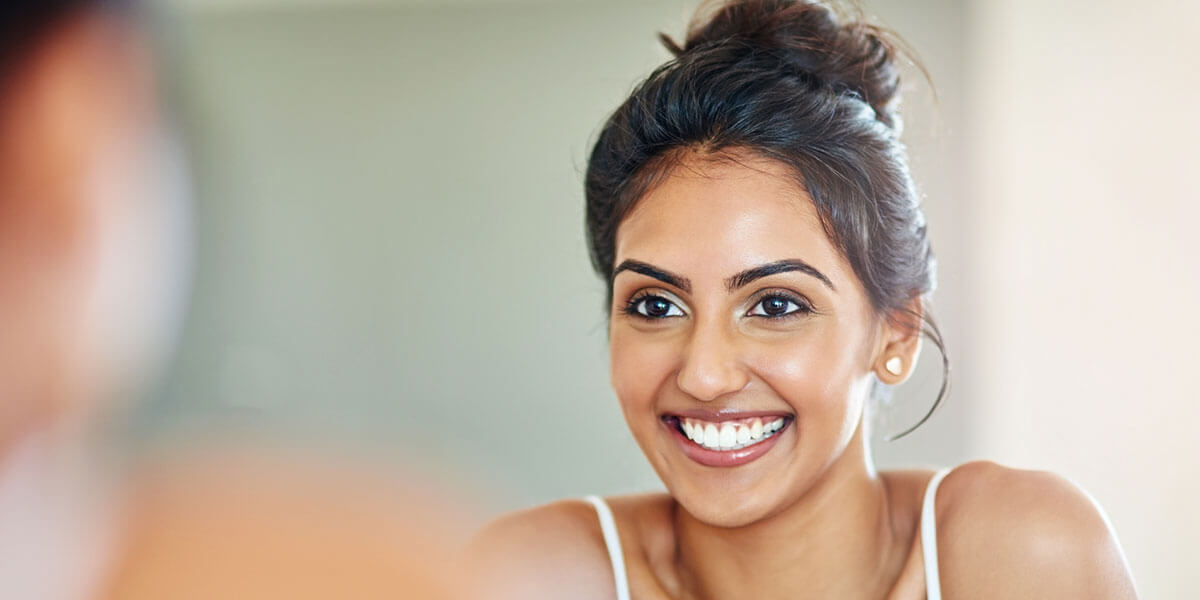 Cosmetic Dental Services - Woman Smiling